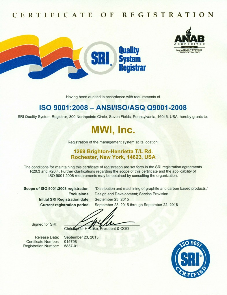 News release mwi inc awarded iso 90012008 certification mwimwi 2015sri quality system registrar is pleased to announce that it has recently awarded an iso 90012008 management system certificate to mwi inc xflitez Images